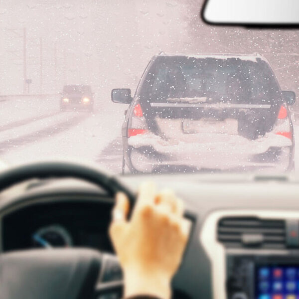 Avoid Collisions With These Helpful Tips If You Have to Drive on Ice
